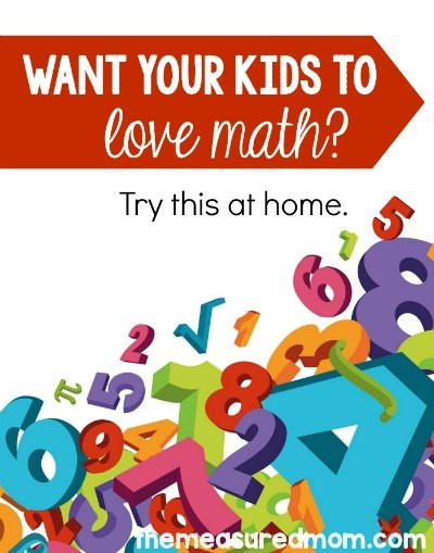 Help kids love math with books and activities