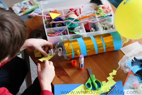 Decorating an inertia zoom ball project
