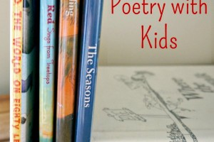 Tips to help you memorize poetry with kids. Great family literacy activity.