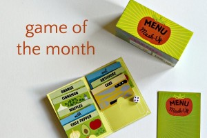 Menu Mash Up game for families and kids.