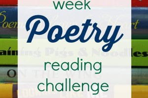 5 week poetry reading challenge that is perfect for beginners.
