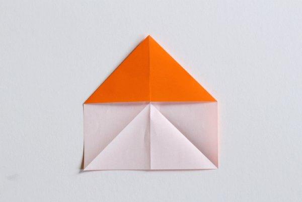 Folding paper transforming stars.