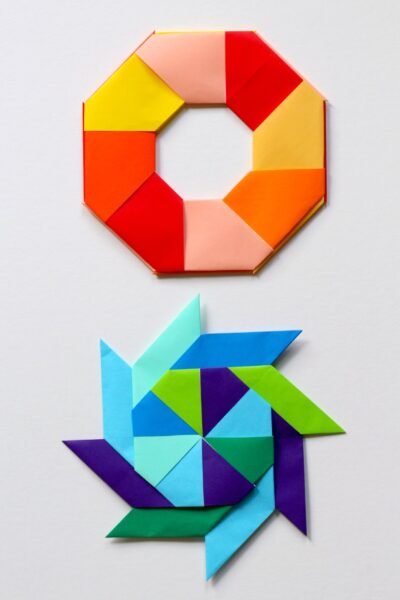 Awesome Math Art Transforming Ninja Star