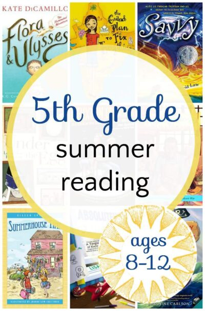 Engaging 5th grade summer reading list sciox Image collections