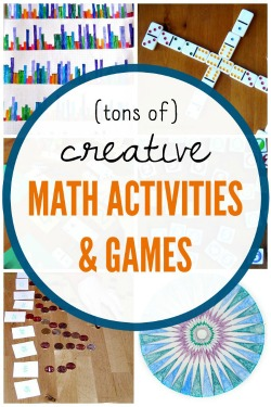Creative and fun math activities for kids to promote learning.