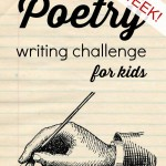 Poetry Writing Challenge {Final Week} – Hyperbole and Haiku
