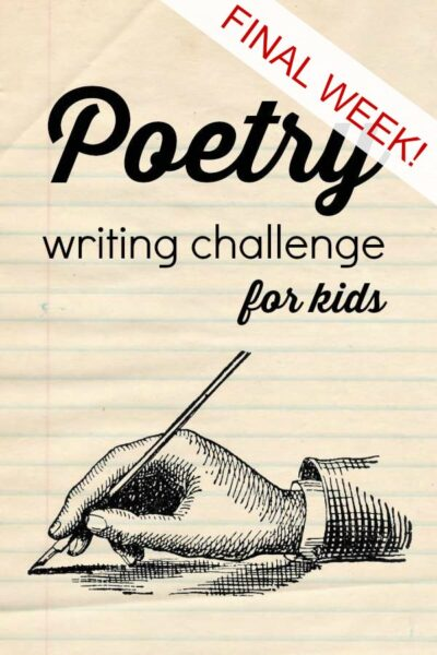 Challenge your kids to learn about poetry by writing hyperbole and haiku