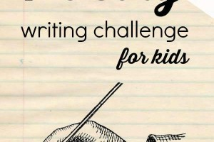 Poetry Writing Challenge {Week 2}