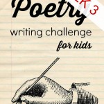 Poetry Writing Challenge {Week 3} – Onomatopoeia and Couplets