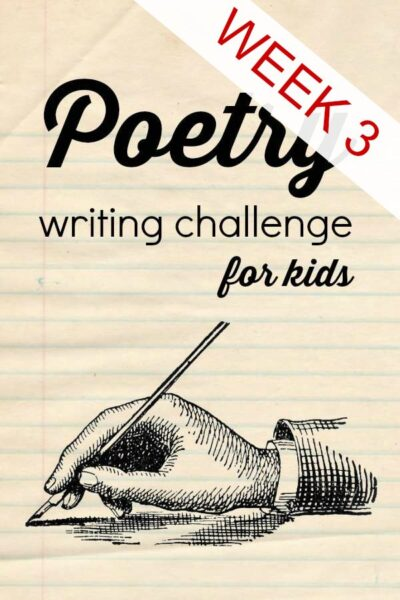 Writing onomatopoeia and couplets in week three of the poetry writing challenge