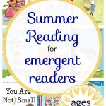 Summer Book List for Beginning Readers