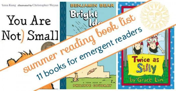 Book list for beginning readers