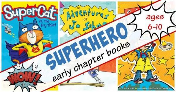 Superhero chapter books for kids
