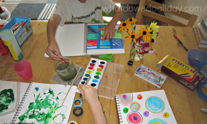 Art journal ideas for kids