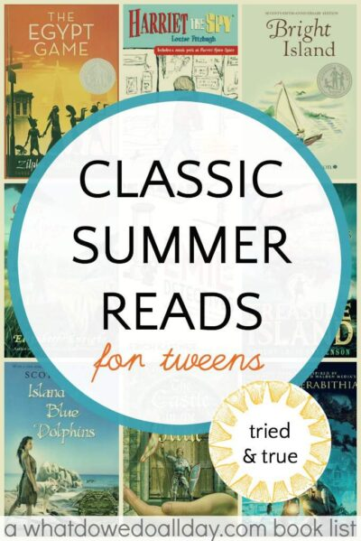 Leisurely Summer Reading Childs Play >> Classic Summer Reading List For Tweens