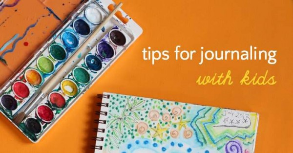 Tips for creative journaling with kids.