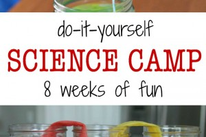 DIY science camp for kids
