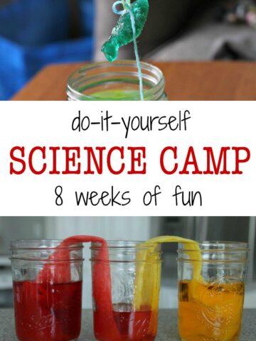 DIY science camp for kids