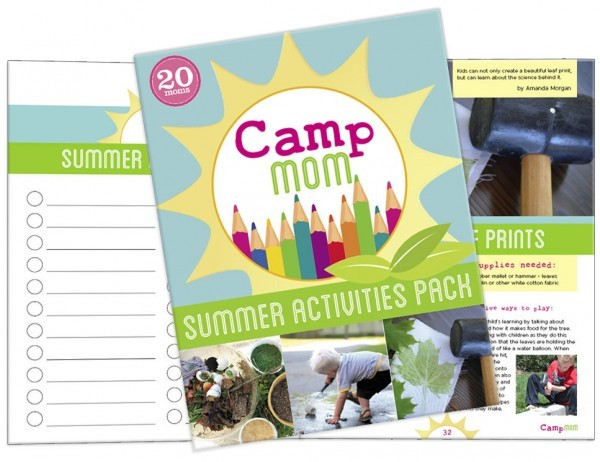 Summer activities pack for summer camp at home.