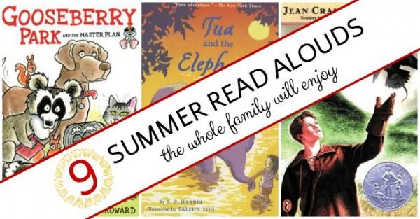 Summer read aloud books