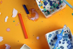 Science Craft for Kids: Milk Carton Candles