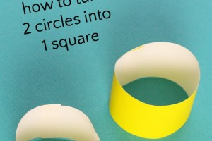 Geometry Magic: Turn 2 Circles into 1 Square