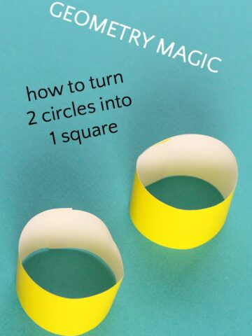 Wow your kids with a geometry magic trick.