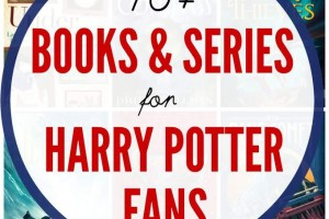 Books and series for kids who like Harry Potter
