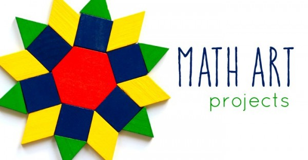 Math art projects for kids to make