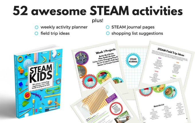 steam activities for kids book