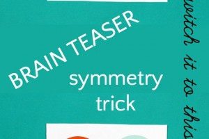 Brain Teaser: Symmetry Paper Trick