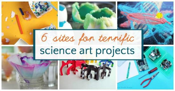 Projects that mix science and art for kids.