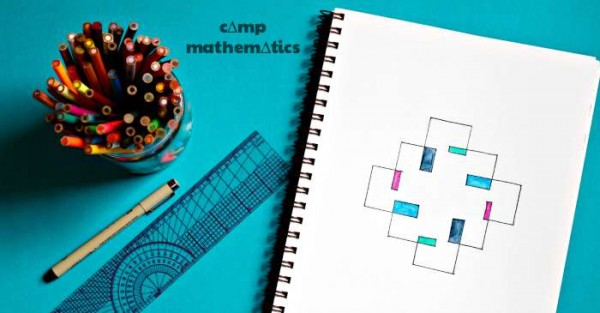 How to make spirolaterals. Fun math art project.