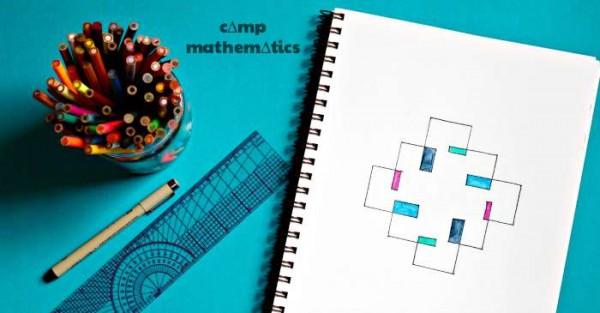 How to make spirolaterals. Fun math art project.