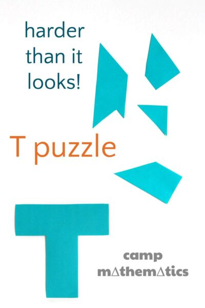 T Puzzle (Boggle Your Mathematical Mind)