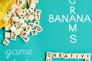 Game of the Month: Bananagrams
