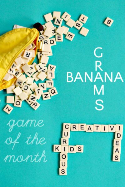 Bananagrams is a great game for literacy and learning.