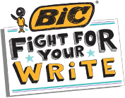 Fight for your write. BIC pledge