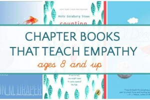 Teach kids empathy and compassion with these chapter books.
