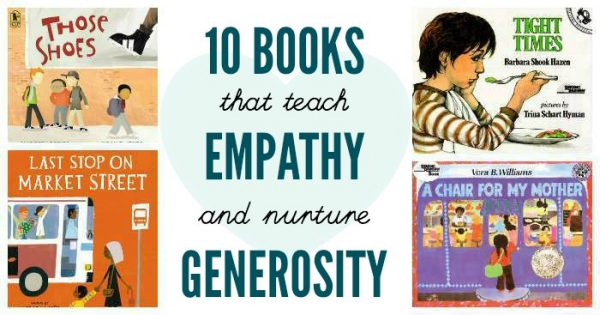 Picture books about generosity