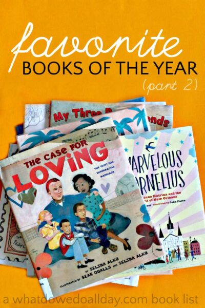 (Our) best books of 2015. Picture books kids will love.