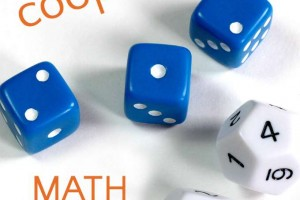 Math dice games for kids. Make math fun.