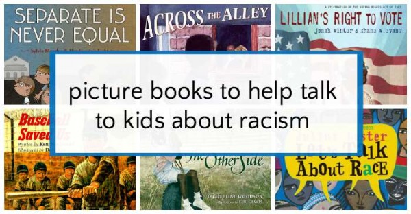 Use these books to help talk to kids about racism and prejudice.