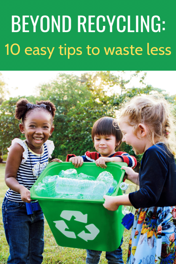 Kids learn How to reduce not just recycle