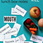 "Word Puzzle Lunch Box Notes: ""Wuzzles"""