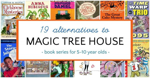 Books like Magic Tree House that kids will love.