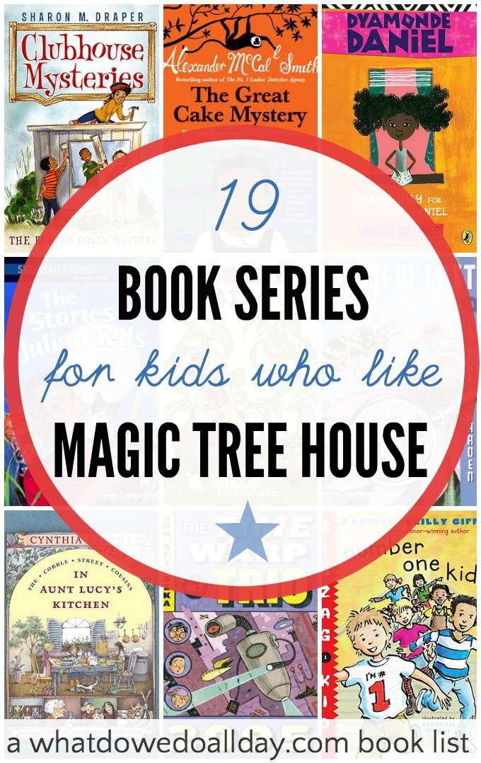 Books Like Magic Tree House