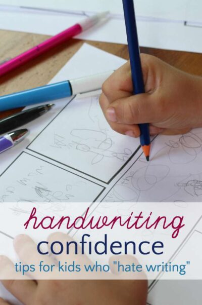 Help for children who hate writing. Save handwriting.