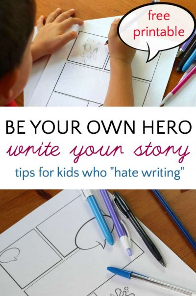 Save Handwriting. Ideas for kids who hate to write.