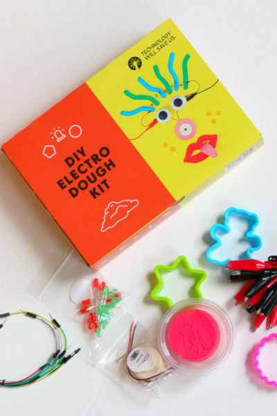 DIY Electric Play Dough Kit from Technology Will Save Us